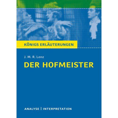 Bange Verlag Der Hofmeister von J. M. R. Lenz.
