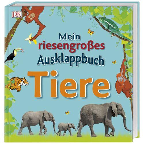 DK Verlag Mein riesengroßes Ausklappbuch. Tiere