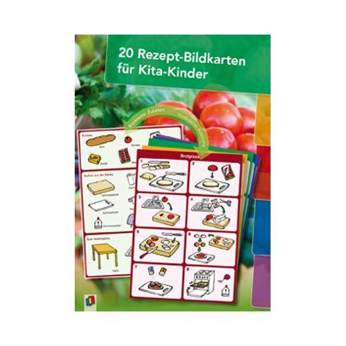Verlag an der Ruhr 20 Rezept-Bildkarten für Kita-Kinder