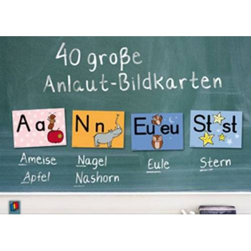 Verlag an der Ruhr 40 große Anlaut-Bildkarten
