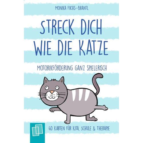 Verlag an der Ruhr Streck dich wie die Katze  Motorikförderung ganz spielerisch - 40 Karten für Kita, Schule & Therapie