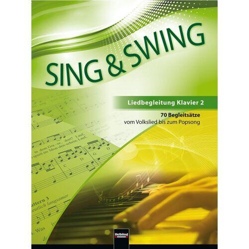 Helbling Verlag Sing & Swing - Liedbegleitung Klavier 2