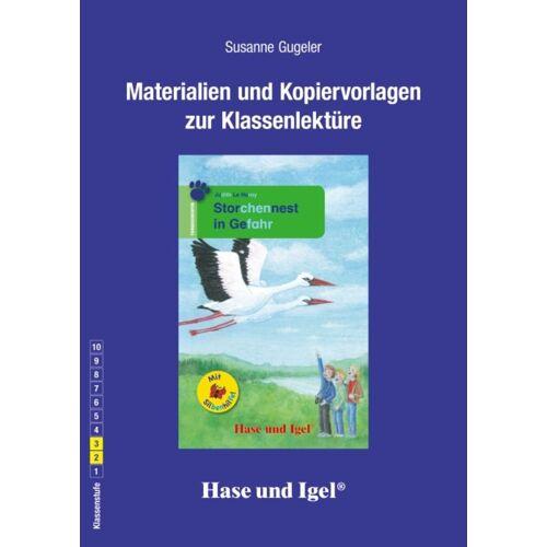 Hase und Igel Begleitmaterial: Storchennest in Gefahr / Silbenhilfe