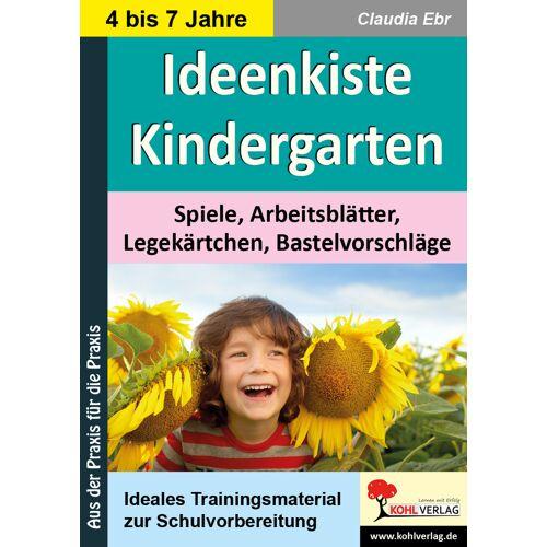 KOHL Verlag Ideenkiste Kindergarten