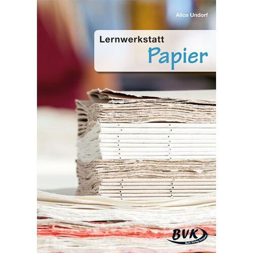 BVK Buch Verlag Kempen Lernwerkstatt Papier