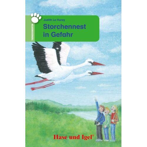 Hase und Igel Storchennest in Gefahr