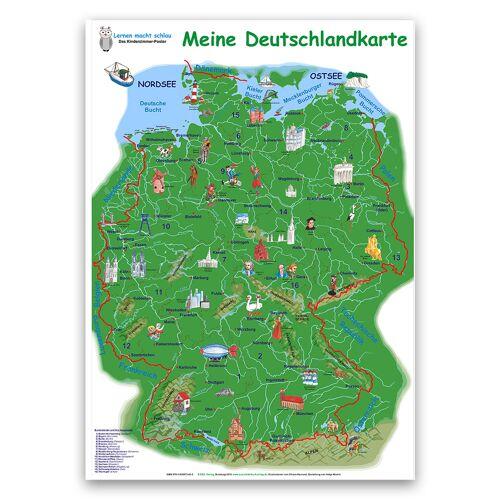 E&Z Verlag Meine Deutschlandkarte