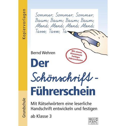 Brigg Verlag Der Schönschrift-Führerschein