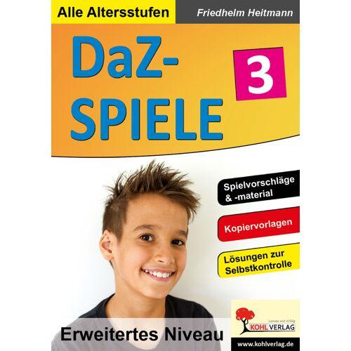 KOHL Verlag DaZ-Spiele in drei Niveaustufen 3