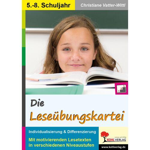 KOHL Verlag Die Leseübungskartei