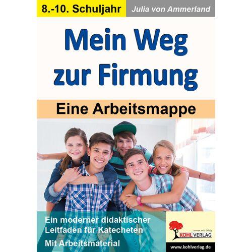 KOHL Verlag Mein Weg zur Firmung