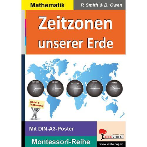 KOHL Verlag Zeitzonen unserer Erde