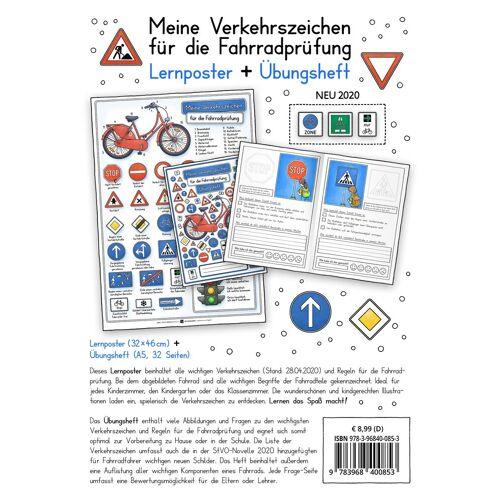 E&Z Verlag Meine Verkehrszeichen für die Fahrradprüfung- mit