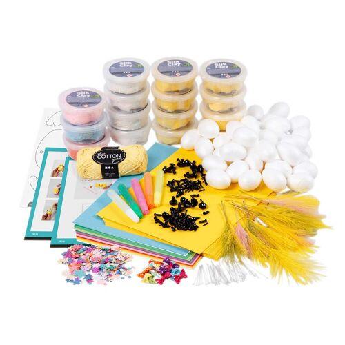 Persen Verlag Silk Clay Modelliermasse Frühjahr - Schul-Set