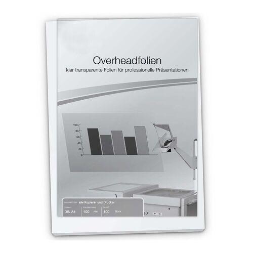 Persen Verlag OHP-Folie A4, für s/w  Kopierer & Drucker, 100 mic