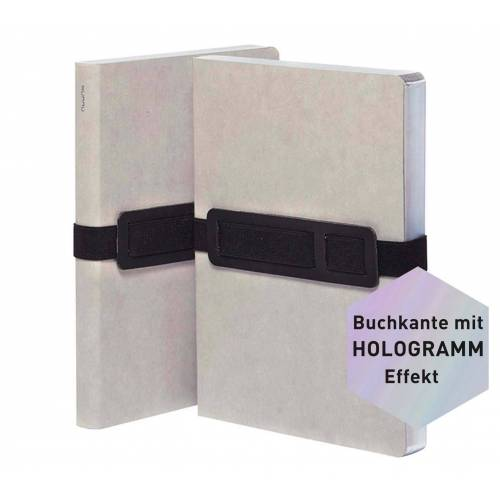 Persen Verlag nuuna Notizbuch Voyager L - grey