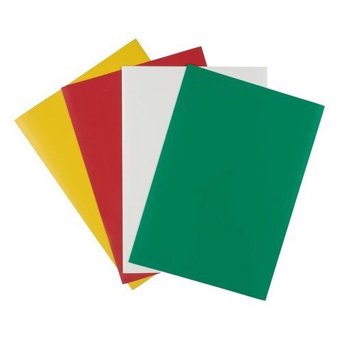 Persen Verlag Magnet-Folie A4, farbig sortiert, 4er-Set