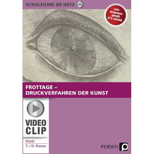 Persen Verlag Frottage - Druckverfahren der Kunst