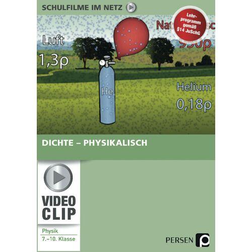 Persen Verlag Dichte - physikalisch