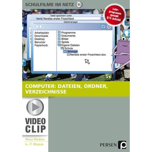 Persen Verlag Computer: Dateien, Ordner, Verzeichnisse