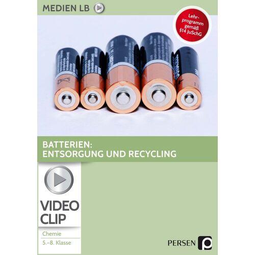Persen Verlag Batterien: Entsorgung und Recycling