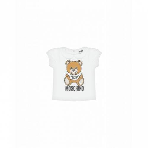 Moschino T-shirt Mit Moschino Teddy Bear