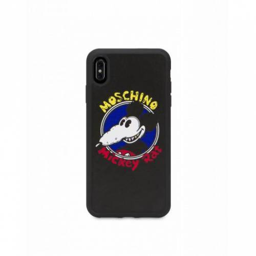 Moschino Cover Iphone Xs Max Mickey Rat