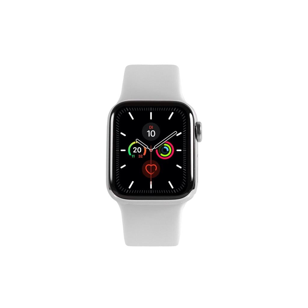 Apple Watch Series 5 Edelstahl 40 mm Gebraucht / GPS + LTE / Silber