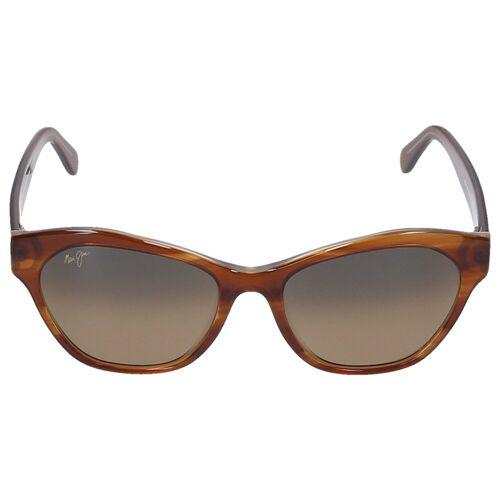 Maui jim Sonnenbrille Browline KILA 12E Acetat braun