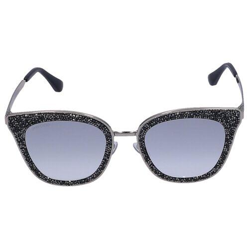 Jimmy Choo Sonnenbrille Wayfarer LIZZY 3YGIC Metall gold