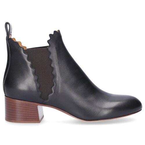 Chloé Chelsea Boots 16A schwarz