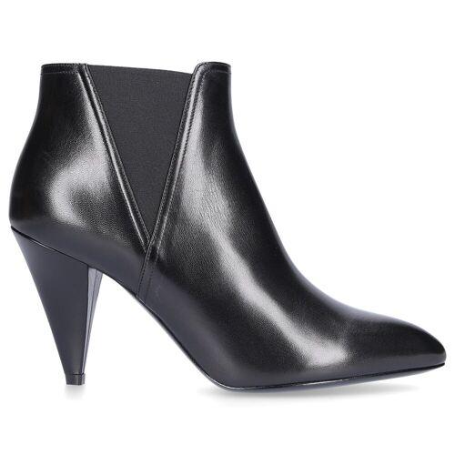 Céline Chelsea Boots CROPPED CHELSEA BOOT Logo schwarz