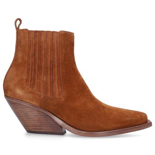Gaia D'este Chelsea Boots CROSTA COGNAC Wildleder cognac