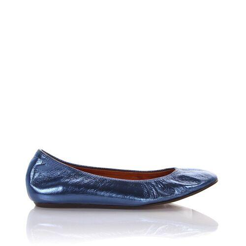 Lanvin Ballerinas LAMI Lackleder blau