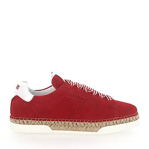 Tod's Espadrilles A0Y550 Plateau rot