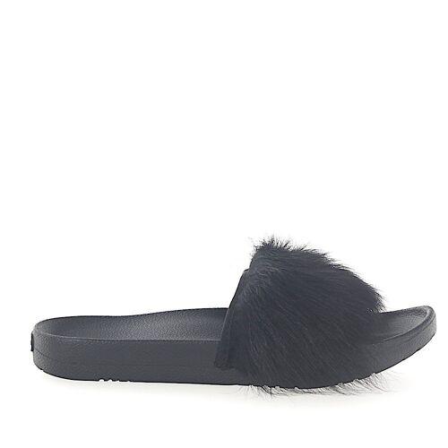 UGG Sandalen Fellschaft schwarz