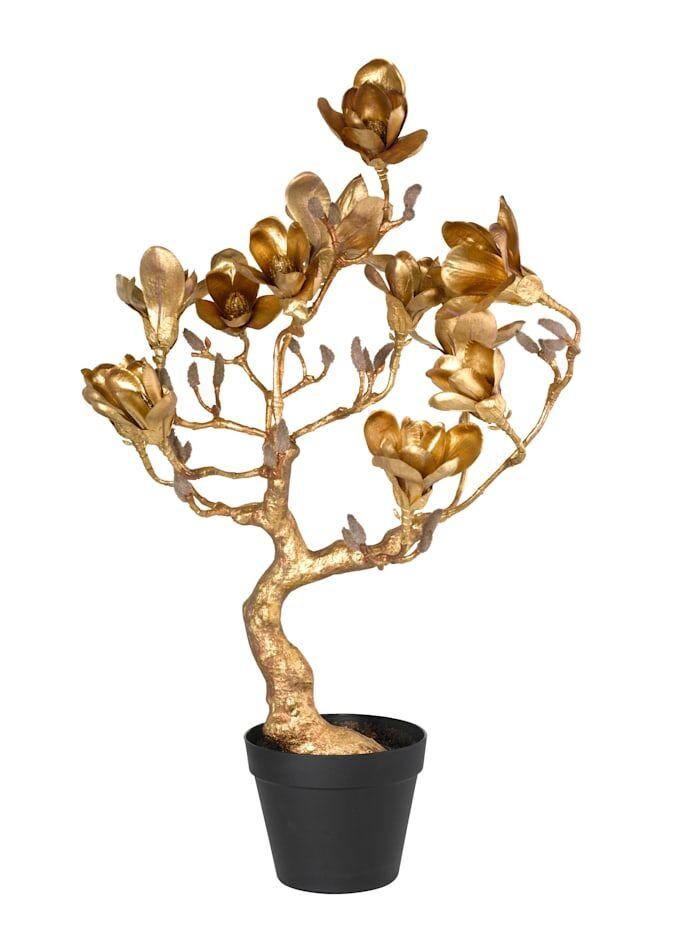 Globen Lighting Magnolienbaum Globen Lighting Goldfarben