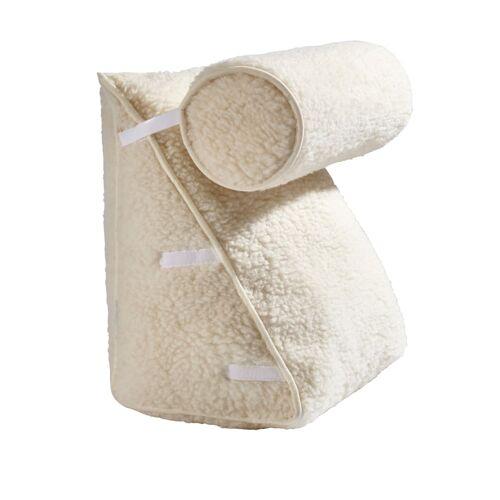 K & N Schurwolle Schurwoll-Rückenkissen K & N Schurwolle beige