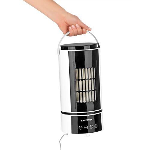 EASYmaxx Kompaktes Klimagerät 2 in 1 EASYmaxx Weiß/Schwarz