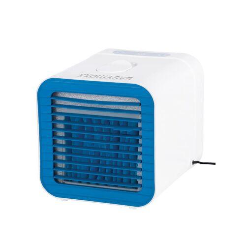 EASYmaxx Kompakter 2in1 Luftkühler mit Heizfunktion EASYmaxx Weiß::Rot::Blau