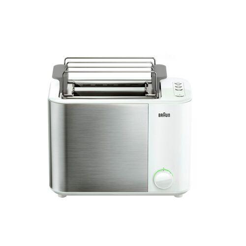 Braun Doppelschlitz-Toaster ID Collection HT 5010 WH Braun weiß