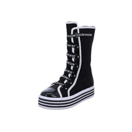 Tizian Damen-Stiefel Pavia 16, schwarz Tizian schwarz