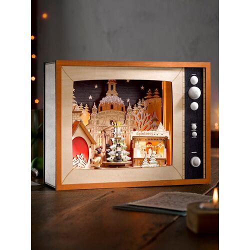 """My Flair LED-Fernseher """"Weihnachtsmarkt"""" My Flair Mehrfarbig"""