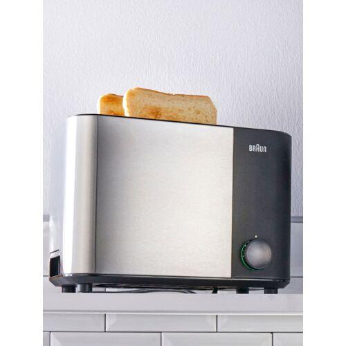 Braun Doppelschlitz-Toaster ID Collection HT 5010 BK Braun schwarz
