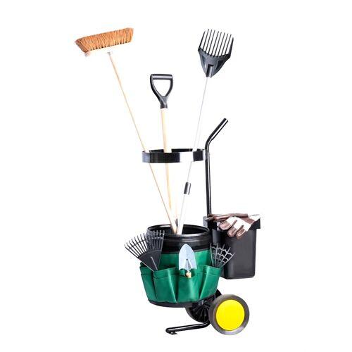 UPP Garten-Werkzeug-Trolley UPP schwarz