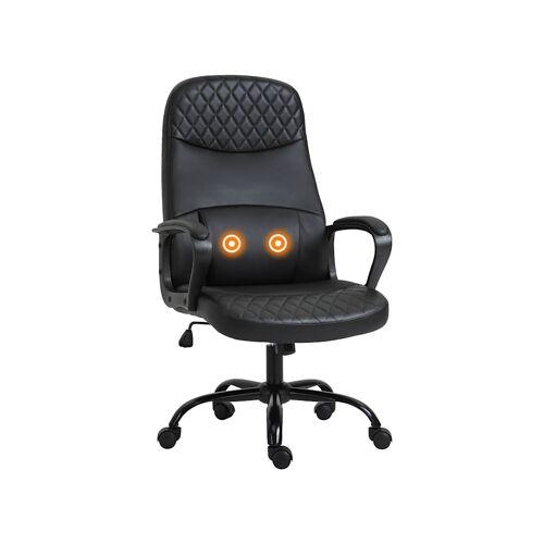 Vinsetto Bürostuhl mit Massagefunktion Vinsetto schwarz