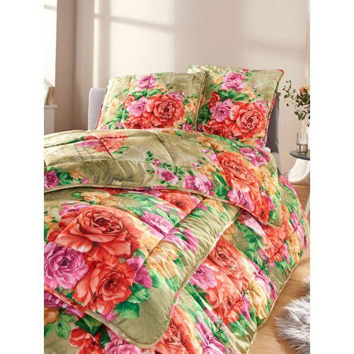 Kinzler Faser Bettenprogramm Rosalie Kinzler grün bunt
