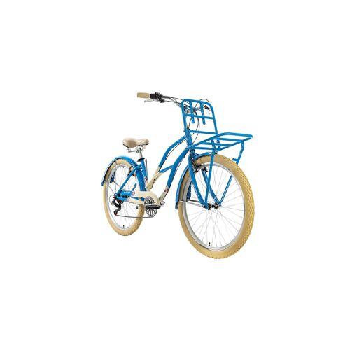 KS Cycling Cargo-Beachcruiser 6 Gänge Kahuna 26 Zoll KS Cycling blau