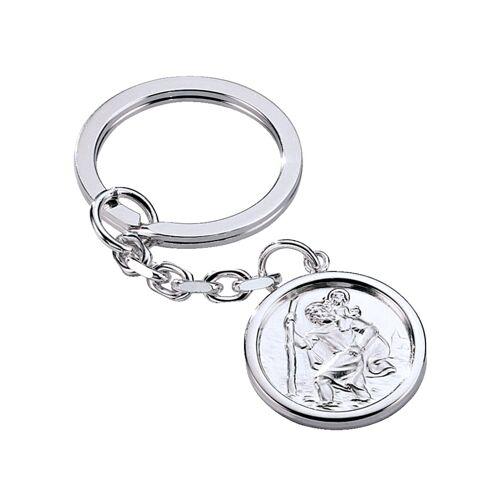 WENZ Schlüsselanhänger in Silber WENZ Weiß