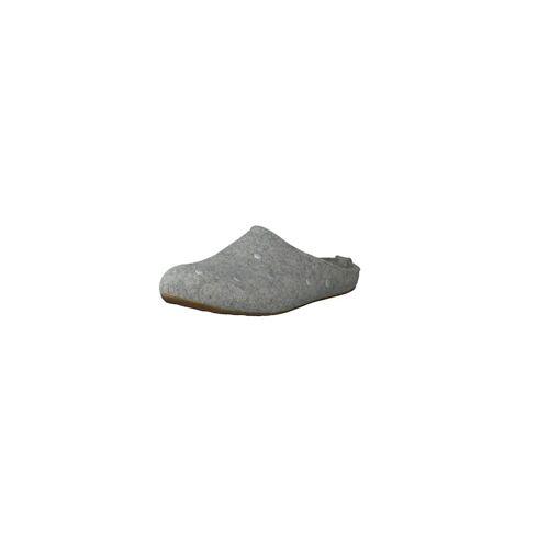 Haflinger Hausschuhe Haflinger grau